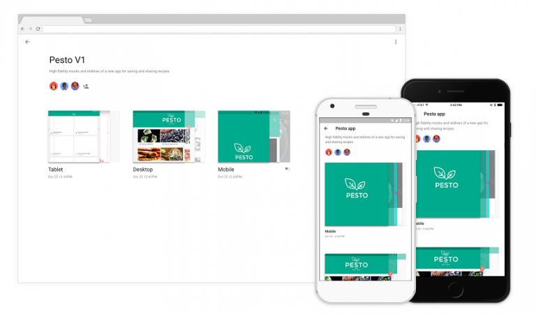 Google's Material Design — new collaboration tools for app designers
