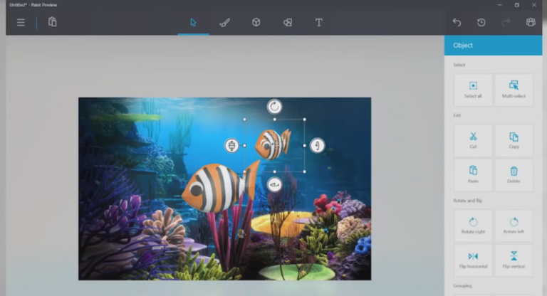 Microsoft's revamped Paint app lets you draw in 3D