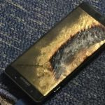 Exploded Samsung Note 7