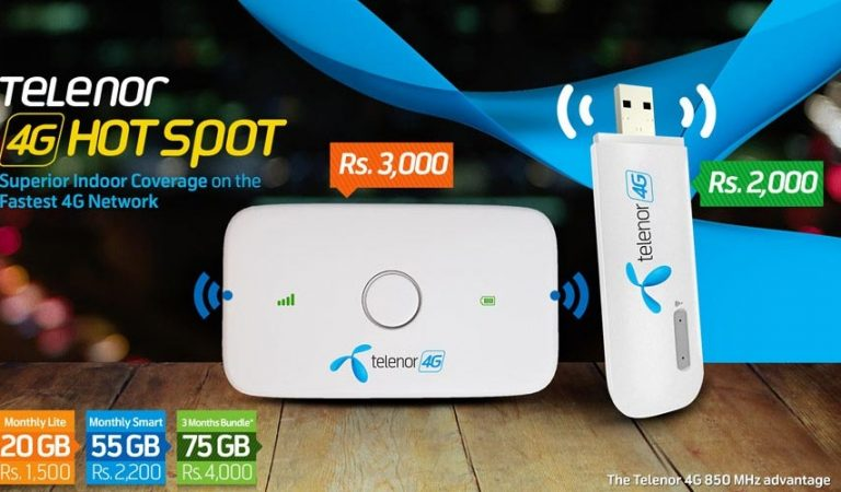 Telenor officially launches 4G Wingle and 4G Mifi devices in Pakistan