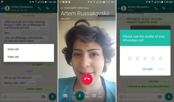 WhatsApp introduces video call feature for Android users