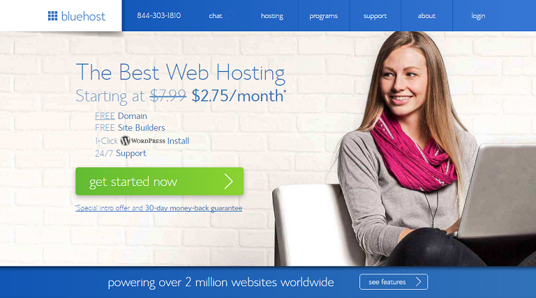 Bluehost Over 70% Off Web Hosting Black Friday & Cyber Monday Sale 2018