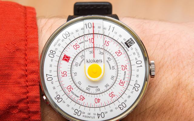 Klok: A watch which turns heads and dials