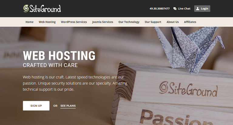 SiteGround 70% Off Web Hosting Black Friday & Cyber Monday Sale 2019