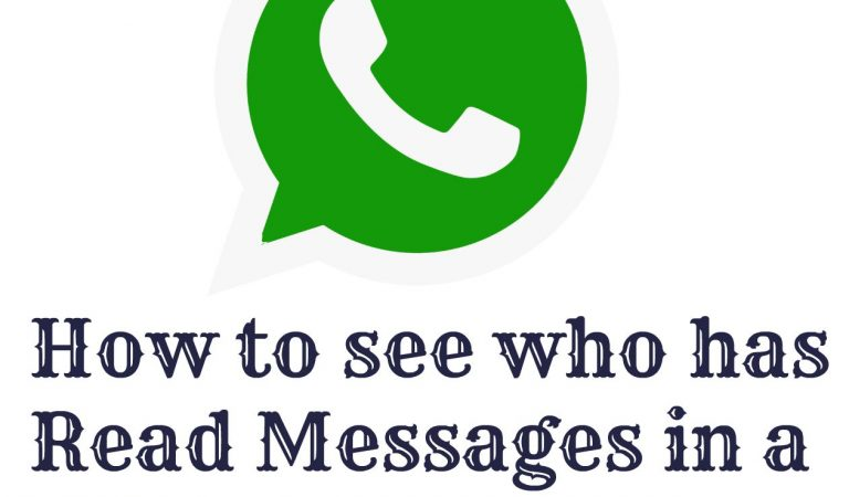 5 Simplest Steps to know the person who hasn't read your WhatsApp Group Message