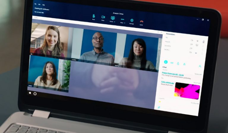 Meet Amazon Chime: a video conferencing & communication service for business